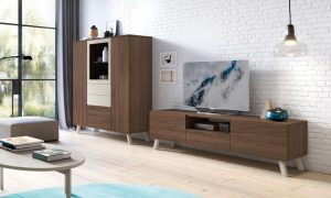 mueble oscuro para alta bcn