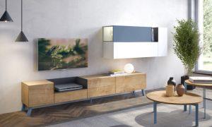 mueble salón pata alta barcelona
