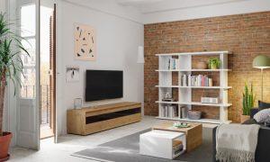 Salon mueble libreria barcelona