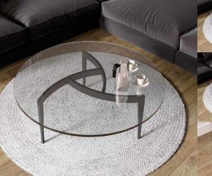 mesa centro redonda bcn